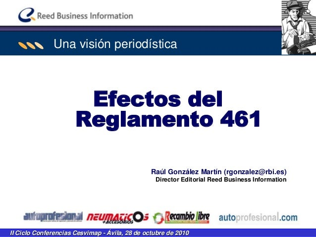 ASETRA Ley de Garantías en la venta de bienes de consumo 1 II Ciclo Conferencias Cesvimap - Ávila, 28 de octubre de 2010 R...