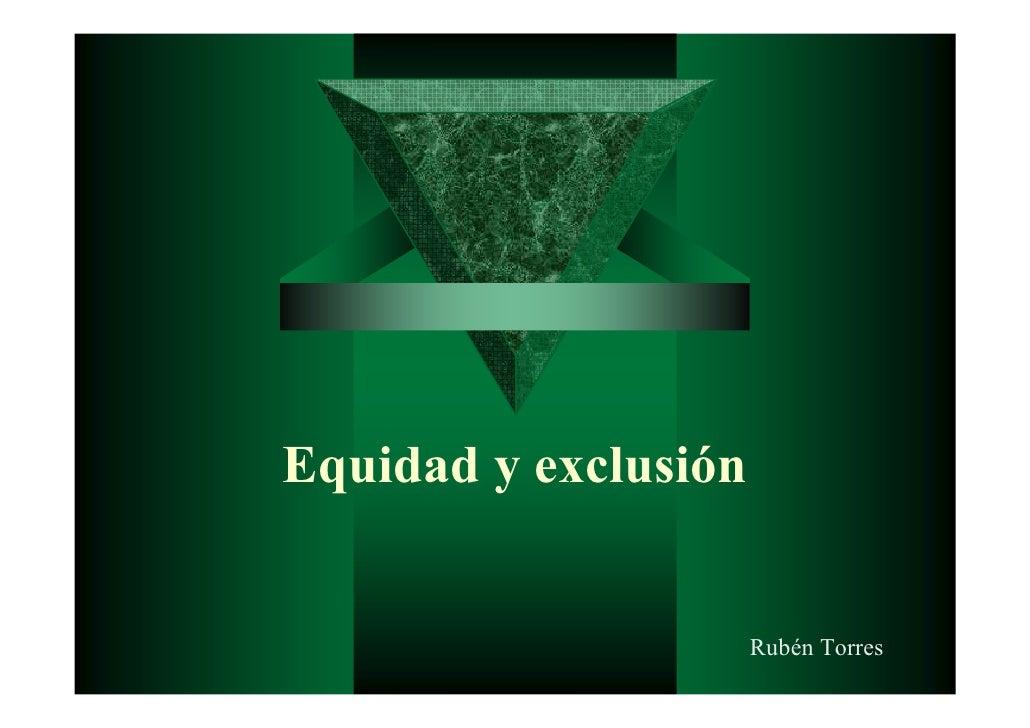 Conferencia Dr. Rubén Torres -  Diciembre 2010 finalización Maestría en Sistemas de Salud y Seguridad Social - Universidad...