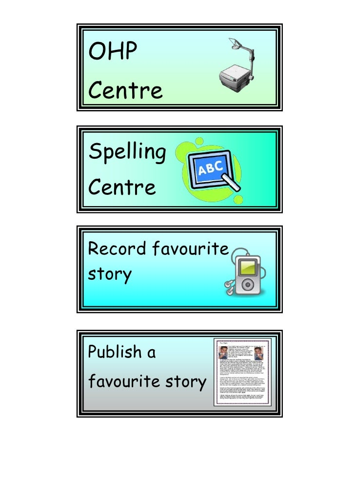 Publish a favourite storyRecord favourite storySpelling CentreOHP CentreKeyboardingPracticeArtCentreFill in Assessment She...