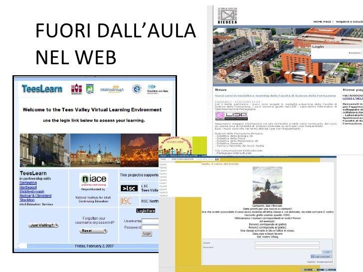 FUORI DALL'AULA  NEL WEB