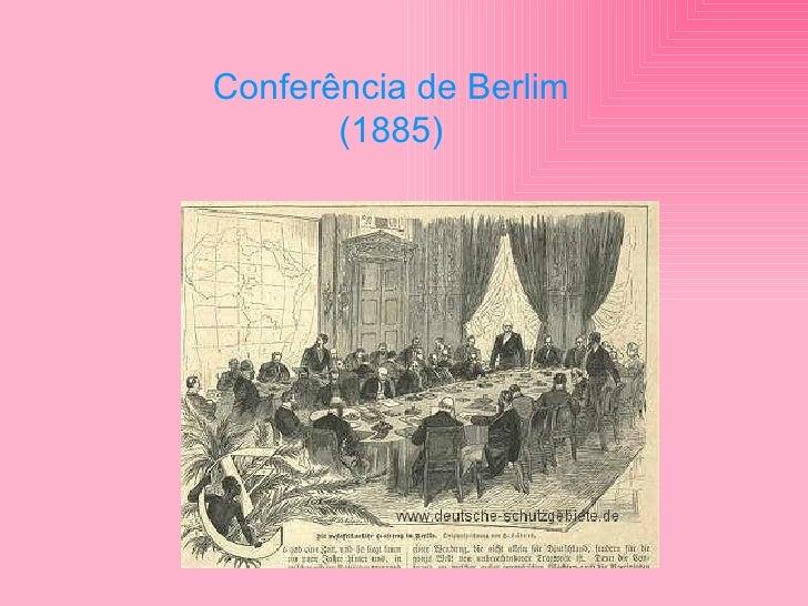 Conferência de Berlim (1885)