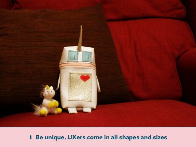 Confessions Of An Ex Unicorn - UX Scotland 2015