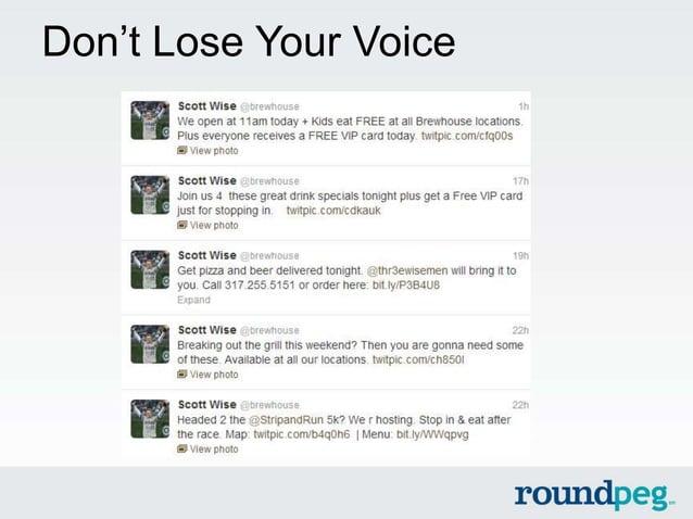 Don't Lose Your Voice