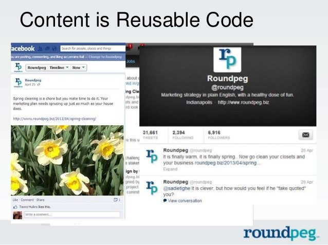 Content is Reusable Code