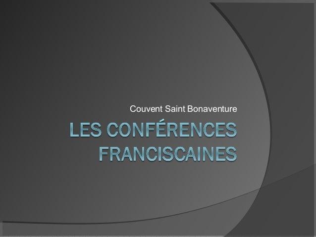Couvent Saint Bonaventure