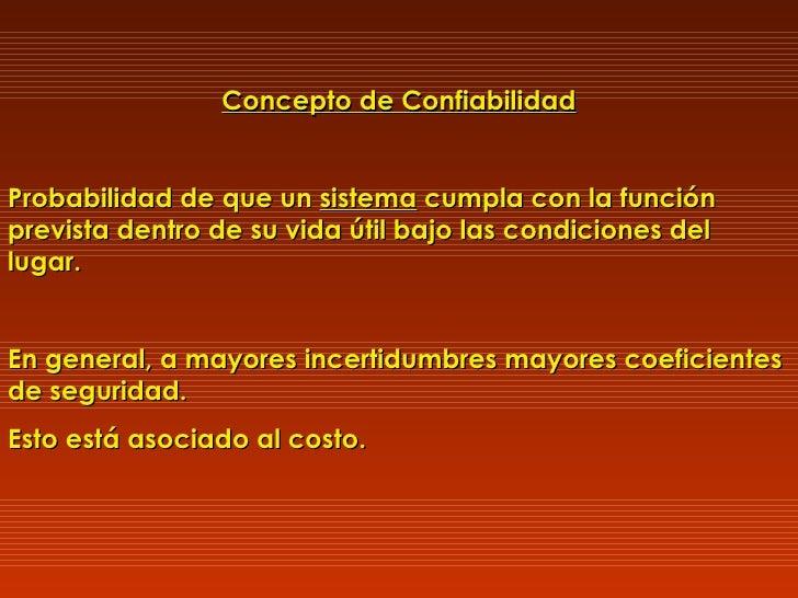 CONFIABILIDAD Slide 38