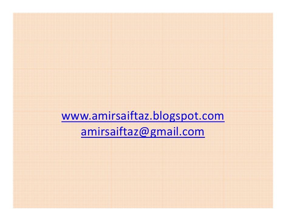 www.amirsaiftaz.blogspot.com   amirsaiftaz@gmail.com
