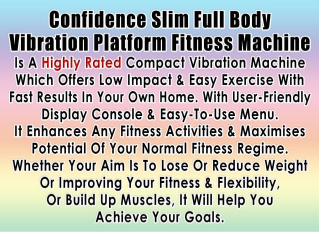vibration platform fitness machine reviews
