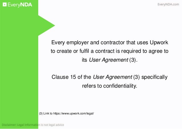 Confidentiality at UpWork vs Freelancer vs Guru – Confidentiality Clause Contract