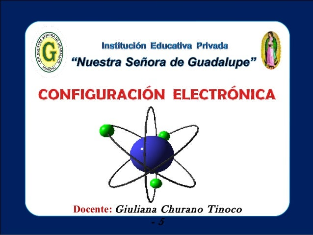 Docente: Giuliana Churano Tinoco                -5