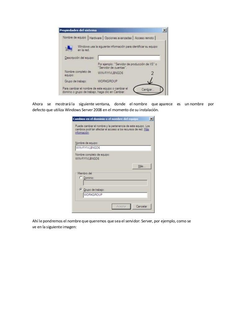Configuracion dns-windows-server-2008