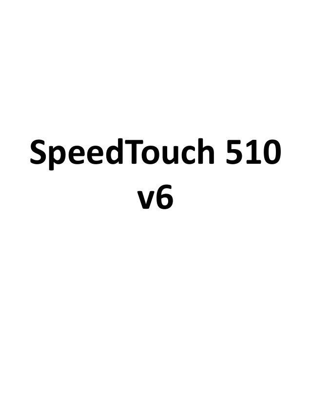 SpeedTouch 510 v6