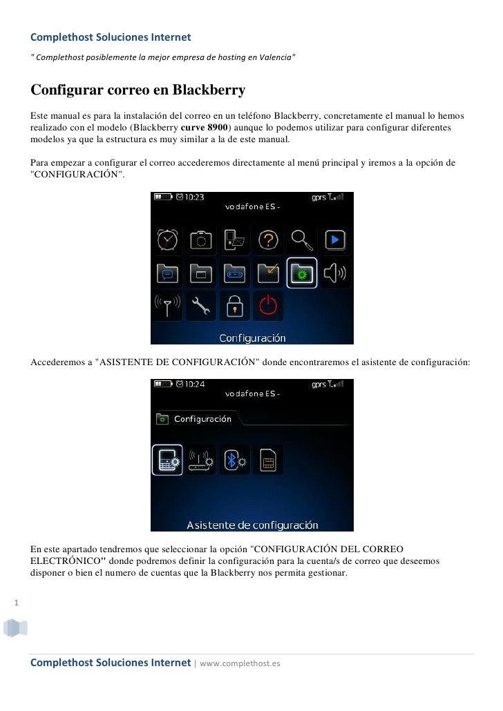 """Complethost Soluciones Internet     """" Complethost posiblemente la mejor empresa de hosting en Valencia""""       Configurar c..."""