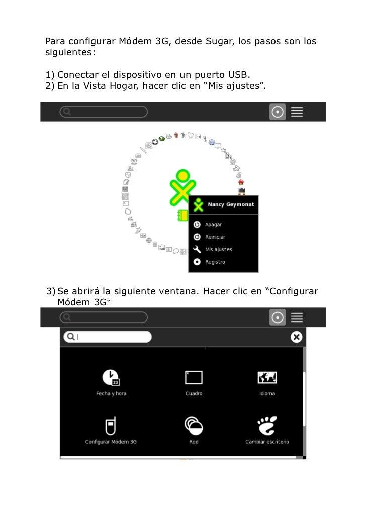 Configurar módem olidata Slide 2
