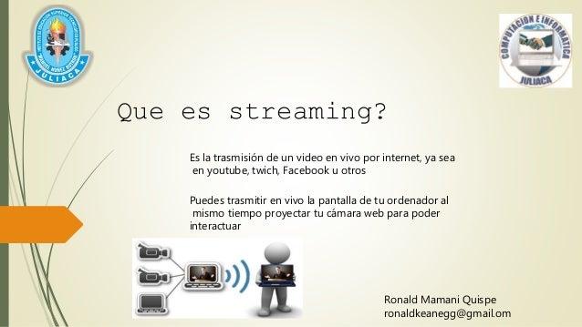 Stream Es