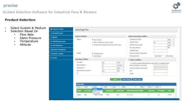Kruger blower selection software, free download