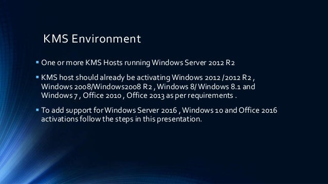 Configuring kms environment for windows 2016 server windows 10and o configuring kms environment for windows 2016 server windows 10and office 2016 activations ccuart Images