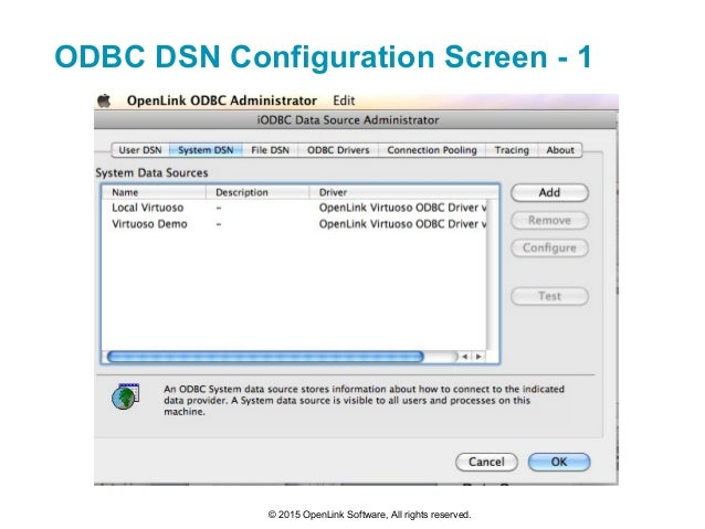 Mac ODBC: Database connectivity products for Mac OS X by ...
