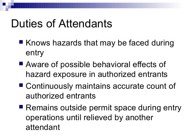 Confined Spaces Training Powerpoint by OSHA
