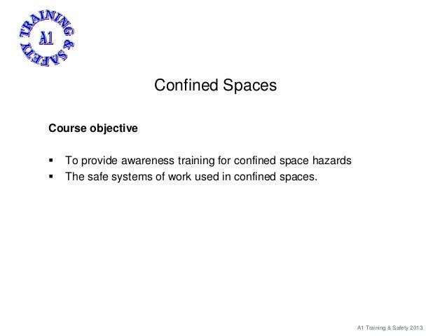 Confined spaces brief Slide 2
