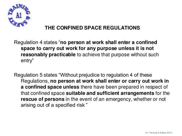 Confined spaces brief Slide 3
