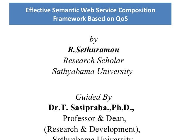 by R.Sethuraman Research Scholar Sathyabama University Guided By Dr.T. Sasipraba.,Ph.D., Professor & Dean, (Research & Dev...