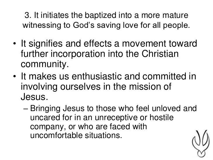 Being a mature christian