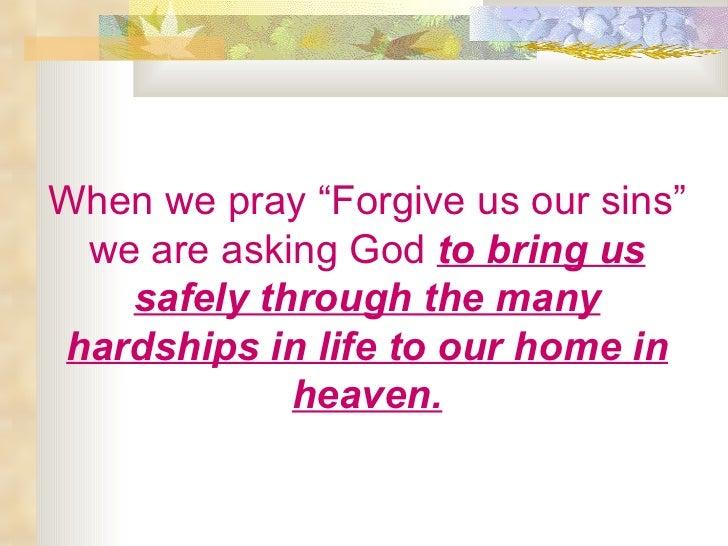 Asking god for confirmation