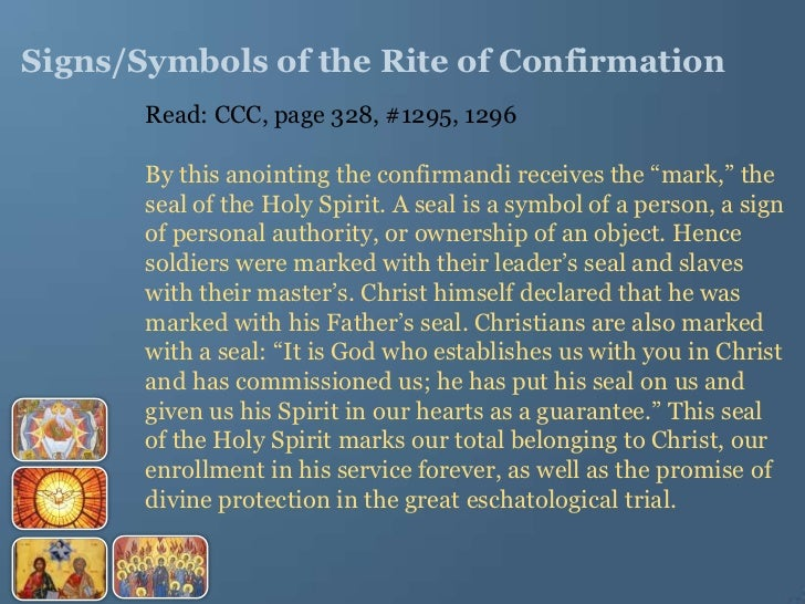 Confirmation Resource 2012