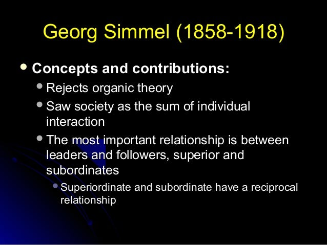 georg simmel a collection of essays