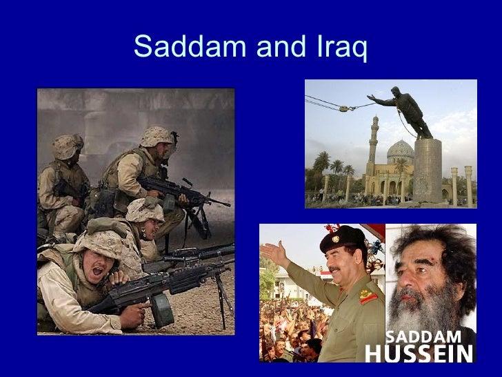 Saddam and Iraq