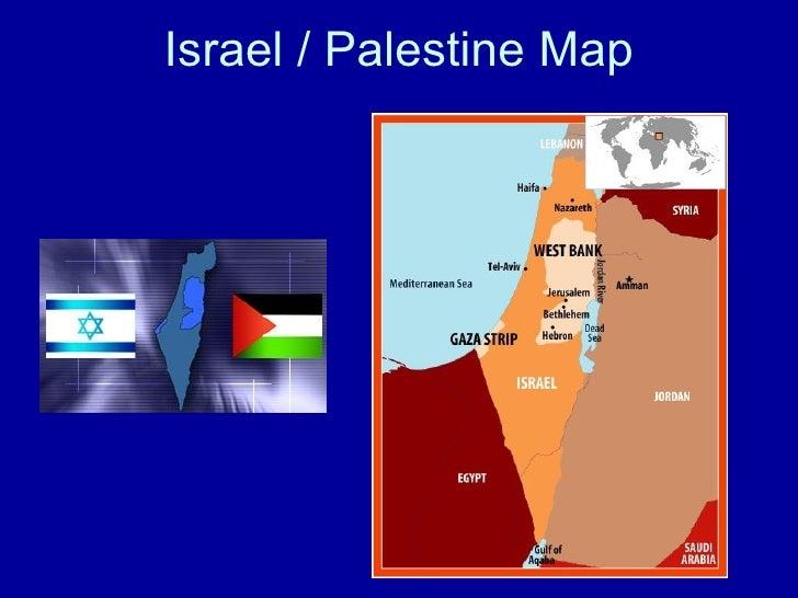 Israel / Palestine Map