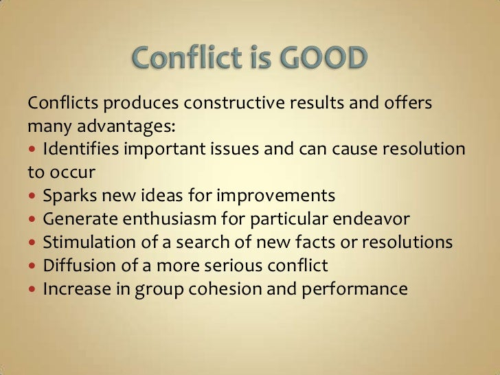the importance of critical thinking in conflict management What is the relationship between critical thinking & conflict between themselves and the conflict critical thinking allows people to 5 conflict management.