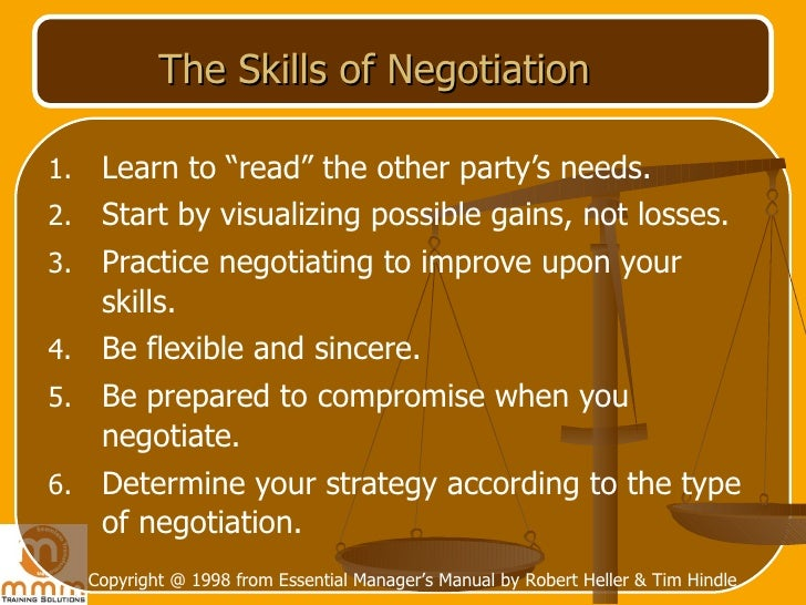 importance of negotiations in resolving a problems Approaches to conflict resolution, as applied to international and the meaning and importance of culture in negotiation [this book draws on organization theory to focus on collaboration as a method for solving inter-organizational problems] innes, j (1999.