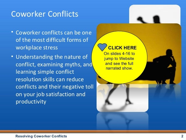 what is conflict resolution pdf
