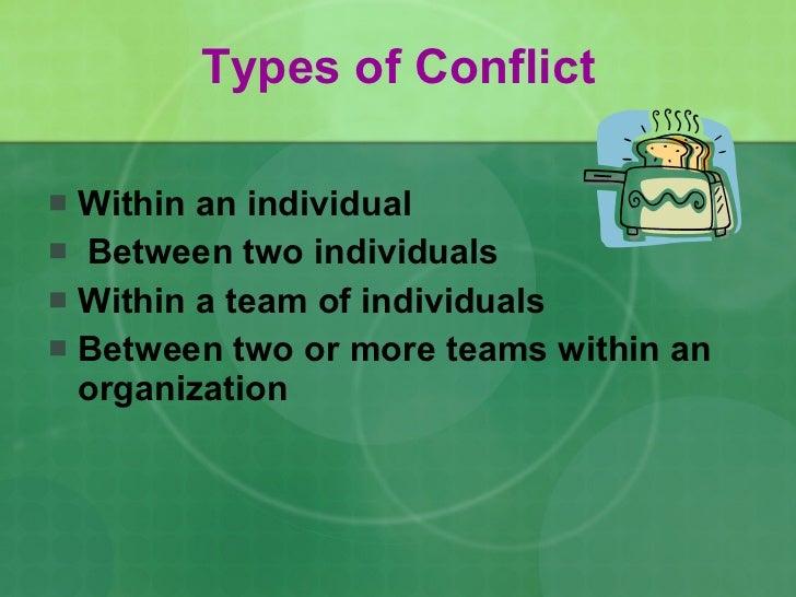 Conflict management Slide 2