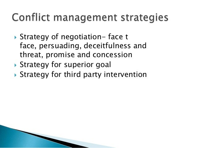 conflict management negotiation paper research within Read negotiation and conflict management essays and research papers view and download complete sample negotiation and conflict management essays, instructions, works cited pages, and more.