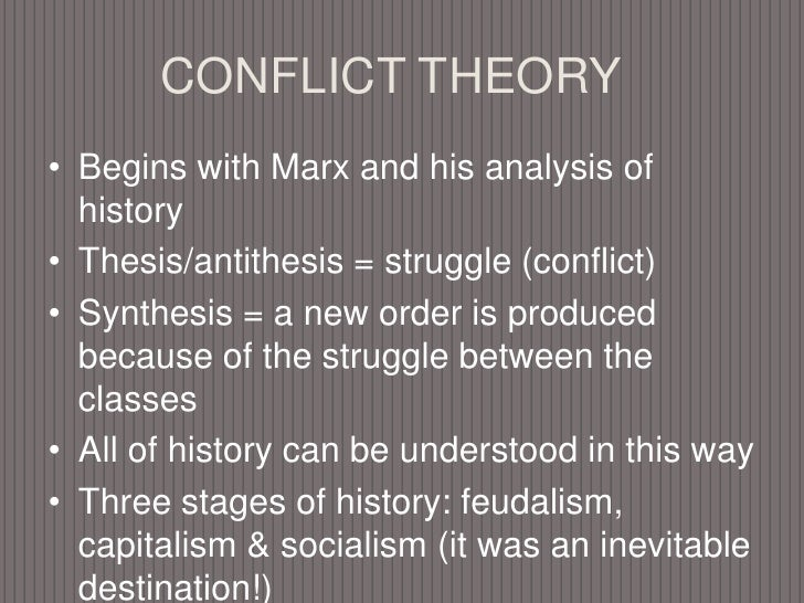 the comparison of functionalism and conflict theory essay Read this full essay on the comparison of functionalism and conflict theory  functionalism and conflict theory are two theories that influence the purposes o.