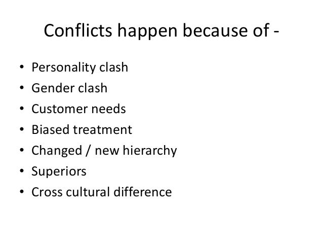 conflict and negotiations Conflict, negotiations and intergroup behavior : chapter 13 conflicts are  common in all organizations they may arise as a result of a disagreement over  goals.