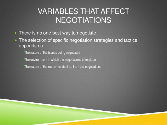 conflict and negotiations This article will focus on negotiation negotiation, as a tool of conflict management and conflict resolution in modern.