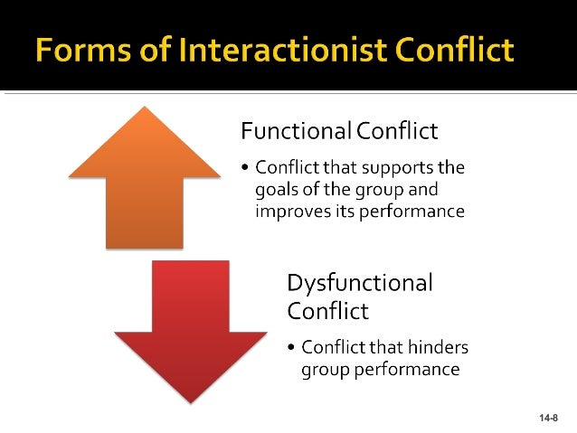 """examples of functional conflict Functional conflict can be good for an organization it promotes the healthy   your first comment to the dissenter might be, for example, """"please tell me more"""" ."""
