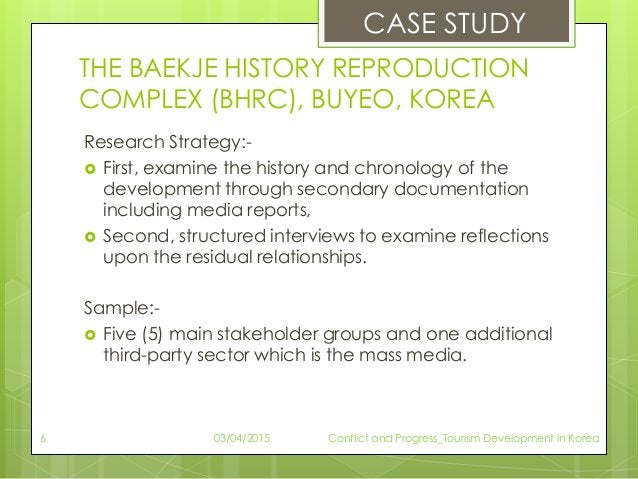 THE BAEKJE HISTORY REPRODUCTION COMPLEX (BHRC), BUYEO, KOREA Research Strategy:-  First, examine the history and chronolo...