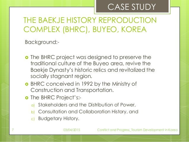 THE BAEKJE HISTORY REPRODUCTION COMPLEX (BHRC), BUYEO, KOREA Background:-  The BHRC project was designed to preserve the ...