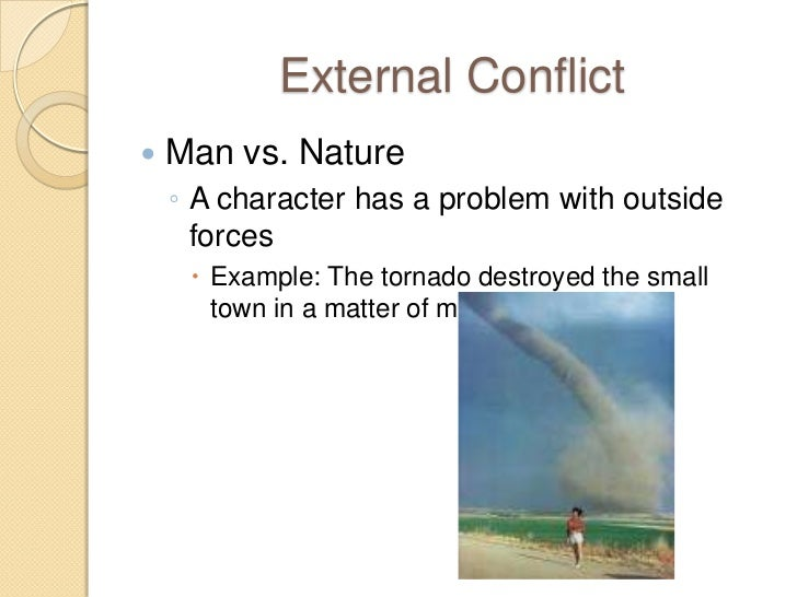 Man Vs Nature Conflicts