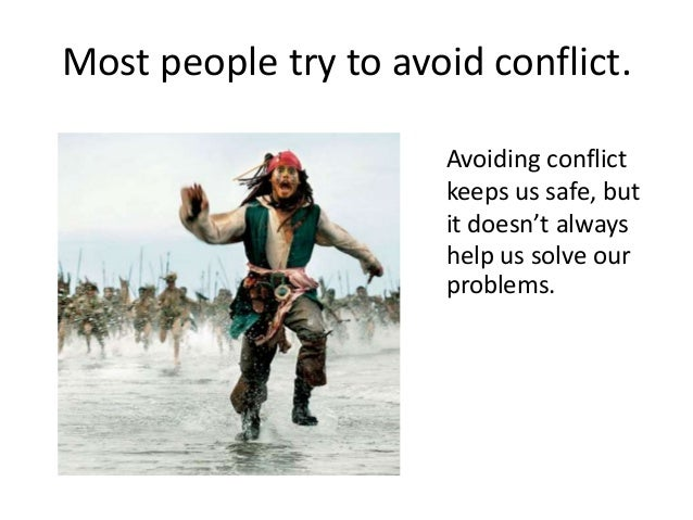 Conflict Vs. Mistake