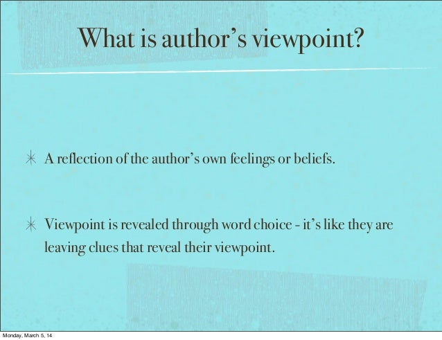Conflicting Evidence & Viewpoints  Slide 2