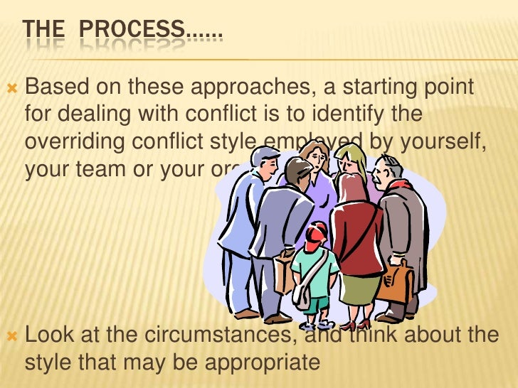 STEP. 5 NEGOTIATE A SOLUTION   By this stage, the conflict may be resolved: Both    sides may better understand the posit...
