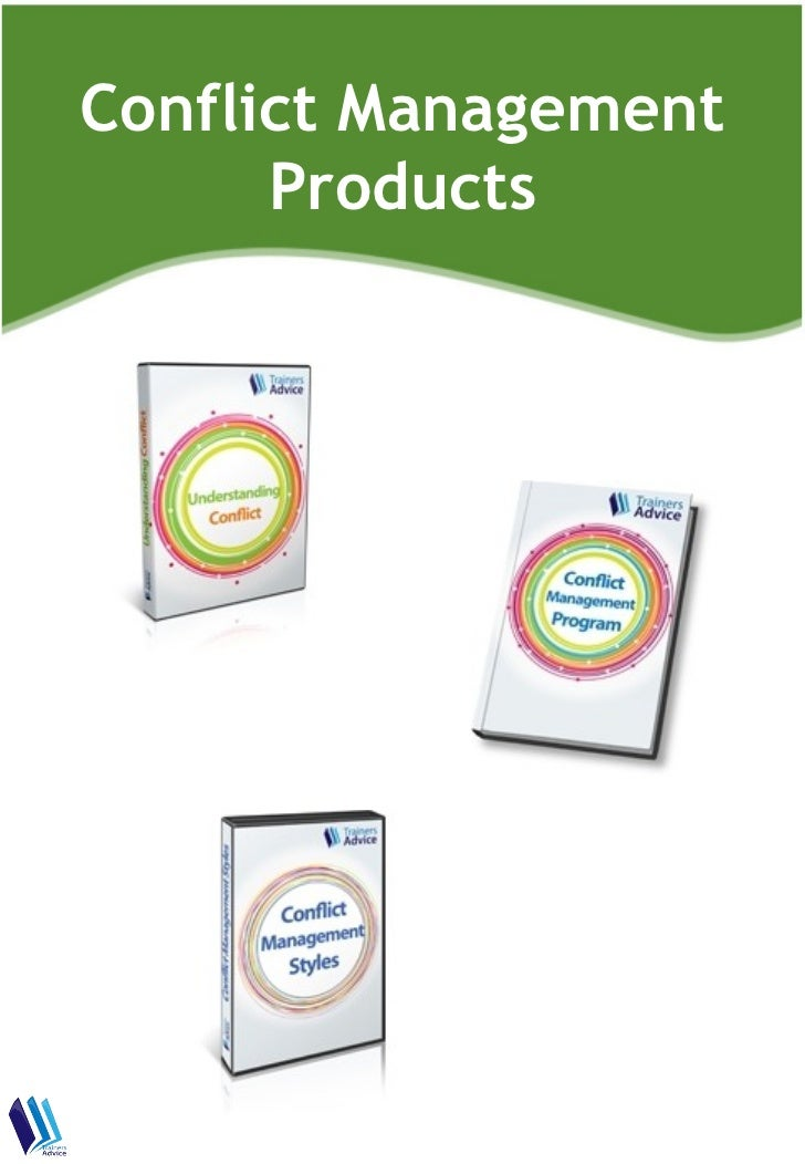 Conflict Management      Products