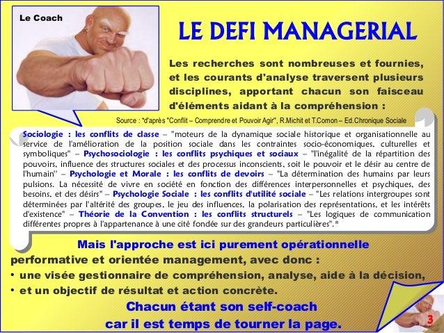 Conflict management : Gestion de Conflits - Un Défi Managérial Majeur Slide 3
