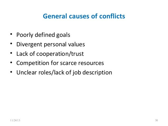 a discussion on the types and effects of conflicts To one or other type of conflict various conflict management  conflict in schools- its causes & management strategies conflict is not the same as discomfort the.